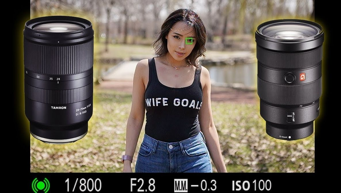 Comparing The Tamron 28 75mm F 2 8 Lens To The Sony 24 70mm F 2 8 Tamron Sony Lens Sony