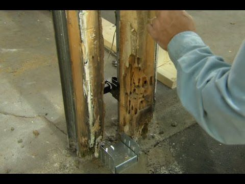 Replacing rotten wood is an easy task page 2 of 2 gotta go do it this old house general contractor tom silva comes to the rescue and saves a neglected badly decayed garage door post and jambs see below for a shopping solutioingenieria Images