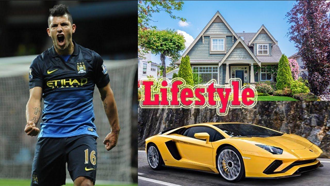 Sergio Aguero Lifestyle Family, House, Cars Net Worth