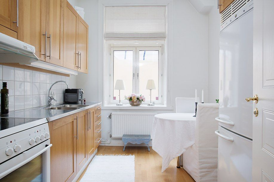 #Kitchen with a table for two, #scandnavian style