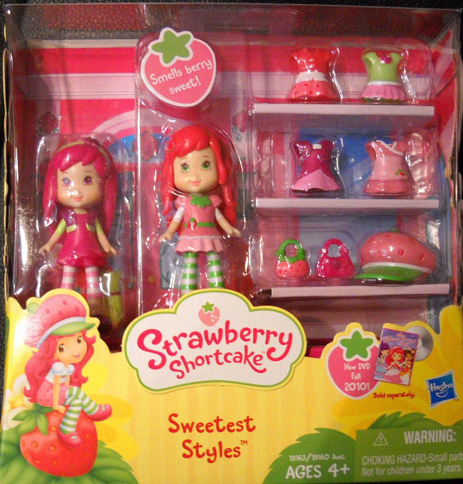 Both Kmart and Toys R Us have Strawberry Shortcake Sweet Styles