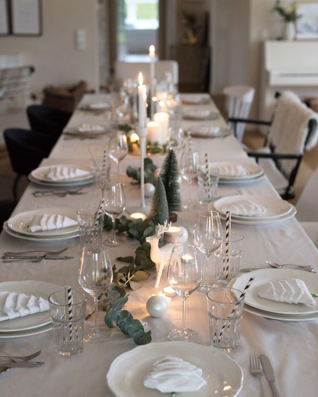 Einfallsreiche Tischdeko für Weihnachten | homify