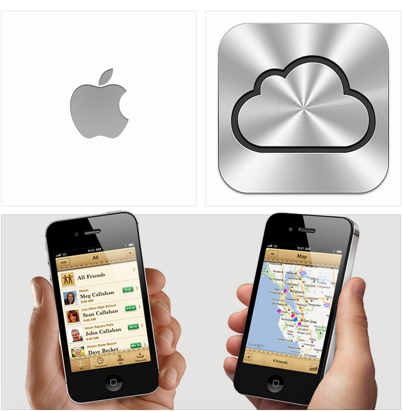Apple iCloud User interface, Interface design, User