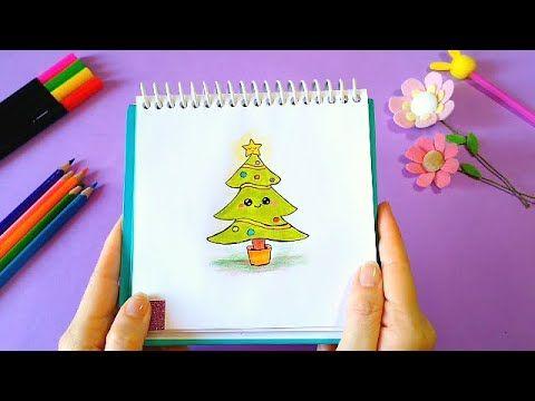 Como Desenhar Coisas Fofas Diy árvore De Natal Kawaii