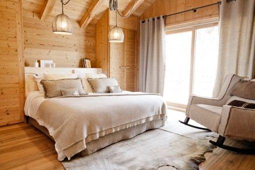 inspiration chambre cosy bois | déco chalet | Pinterest ...