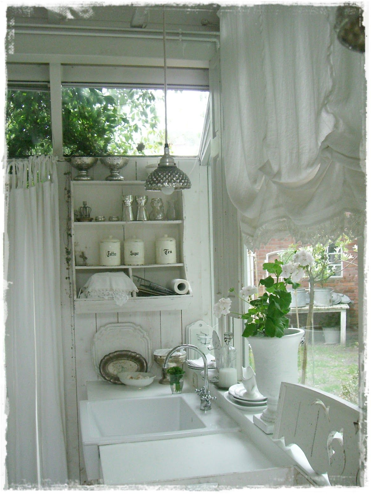 Shabby Chic   küche   Pinterest   Shabby, Kitchens and Laundry rooms