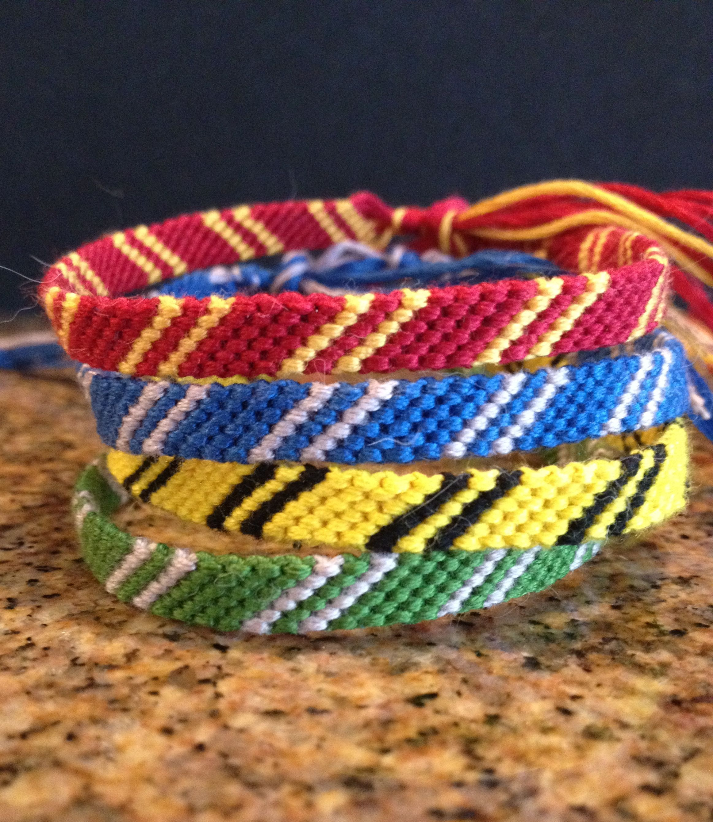 $300 Harry Potter House Scarf Bracelets