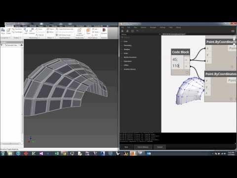 Dynamo Inventor Demo Youtube Building Information Modeling Architecture Model Bim