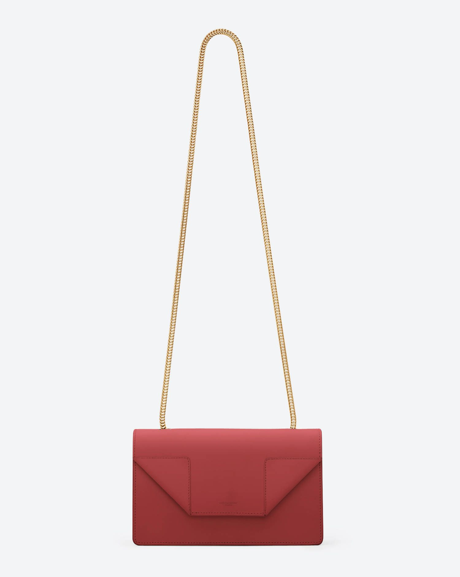 5dea55b91acd5 Classic Saint Laurent Mini Betty Bag in Red Leather - Betty Mini – Handbags  – Shop Women – Yves Saint Laurent – www.ysl.com