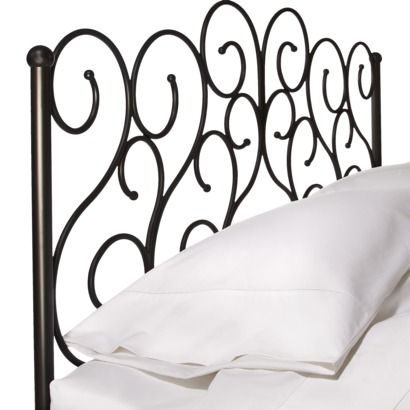 I Want This Tween Wrought Iron Scroll Headboard Queen