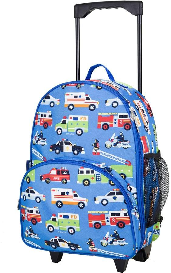 ee364d99af Kids Wildkin Print Rolling Suitcase in 2018