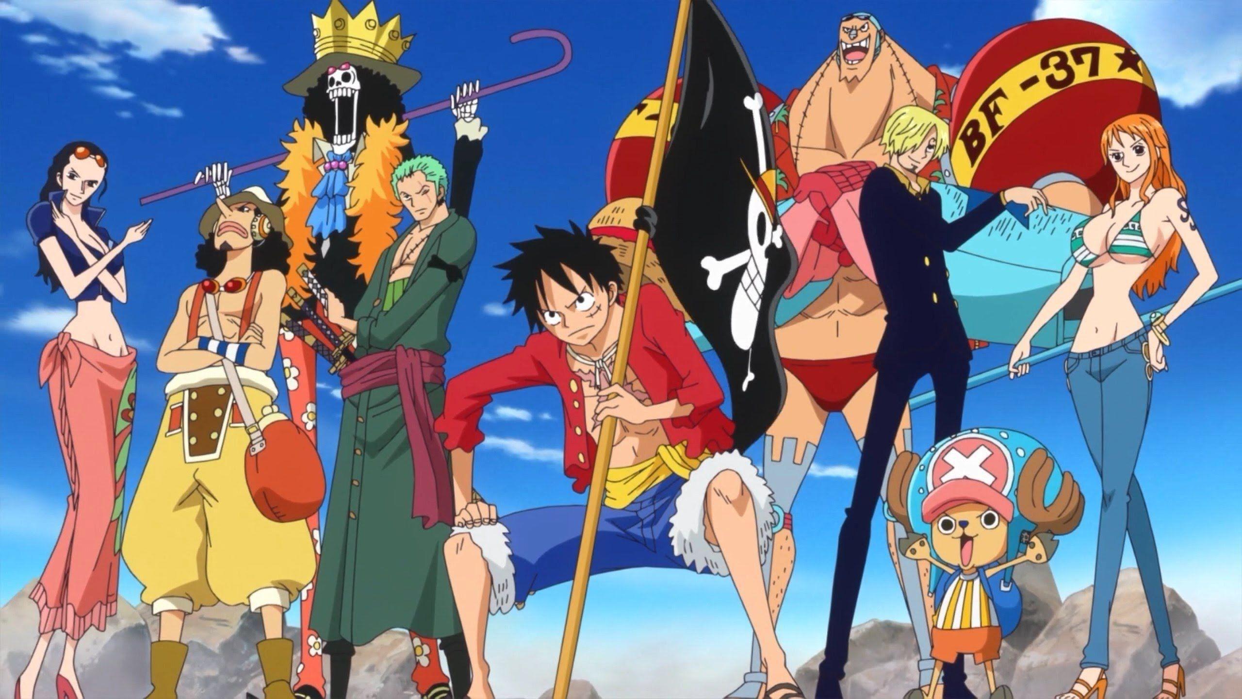 Good 2560x1440 One Piece New World Crew Wallpaper