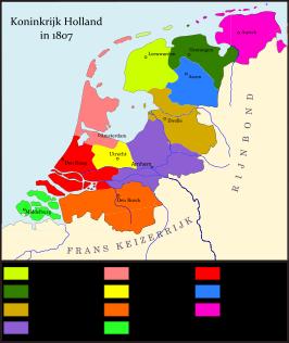 Het Koninkrijk Holland (toenmalige spelling: Koningrijk Holland, 1806 - 1810) was een vazalstaat door Napoleon Bonaparte opgericht voor zijn...
