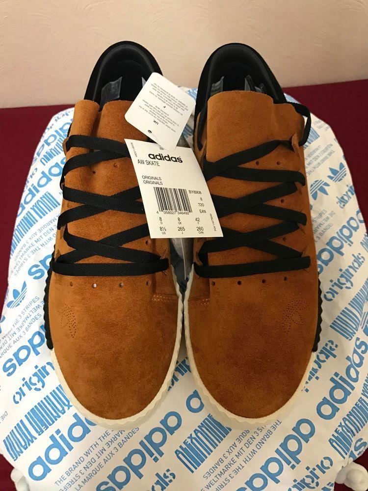 Adidas Alexander Wang Skate Shoes Brown UK Size 8