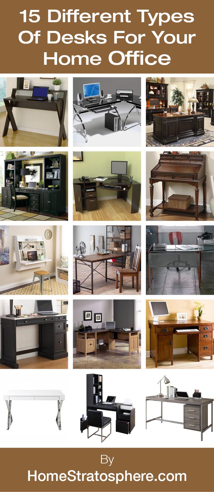 17 Different Types Of Desks 2020 Desk Buying Guide Desk Home Office Home