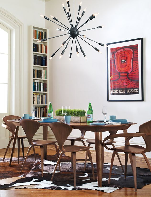 Cherner Armchair Dining Room Table