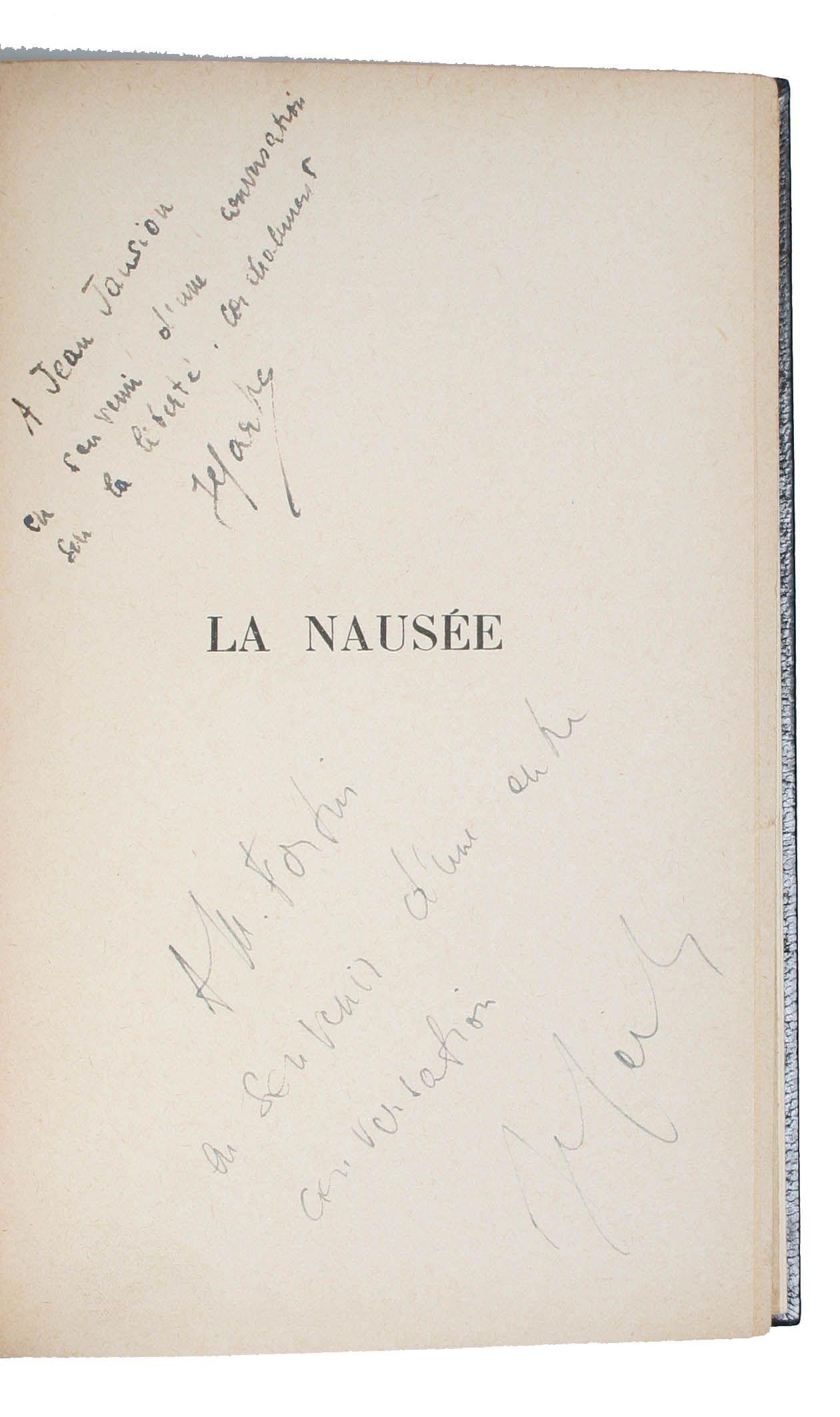 """'La Nausée' 1938, Jean-Paul Sartre """"J'existe. Il est si doux, si doux, si lent. Et léger, comme si seulement maintenu dans l'air. Se déplace. Partout traits qui tombent et se fanent. Très doux, très doux"""""""