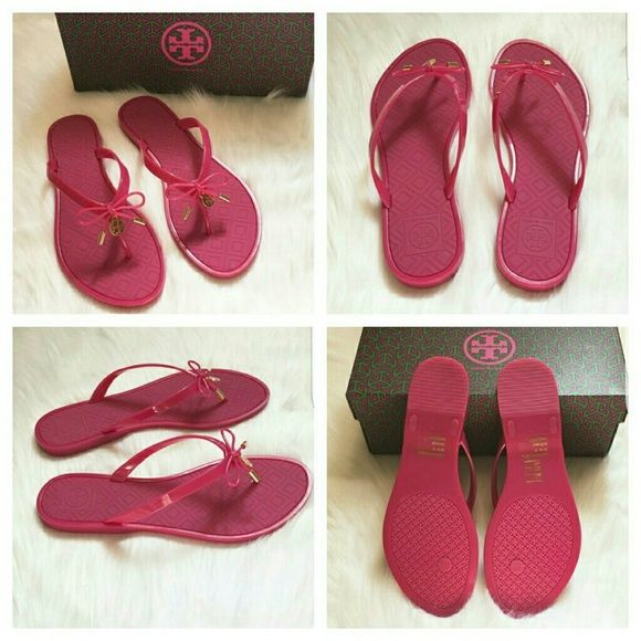 Authentic Tory Burch Sandals Brand New, box and gift bag included! Durable  and waterproof