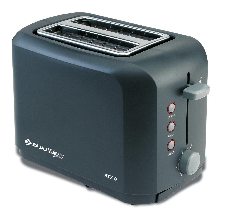 c005683f9d6 Bajaj Majesty ATX 9 2-Slice 800-Watt Auto Pop-up Toaster At Rs.1399