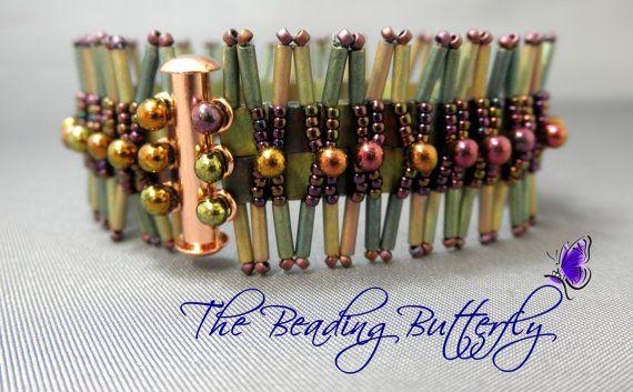 Tila Spikes Bracelet Tutorial Personal by beadingbutterflyshop