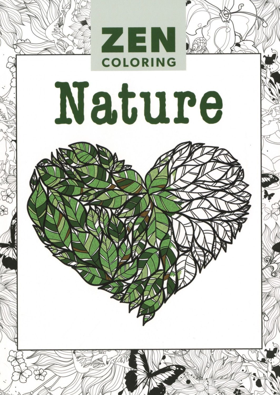 Zen Coloring Nature Adult Coloring Book | Coloring for Adults ...