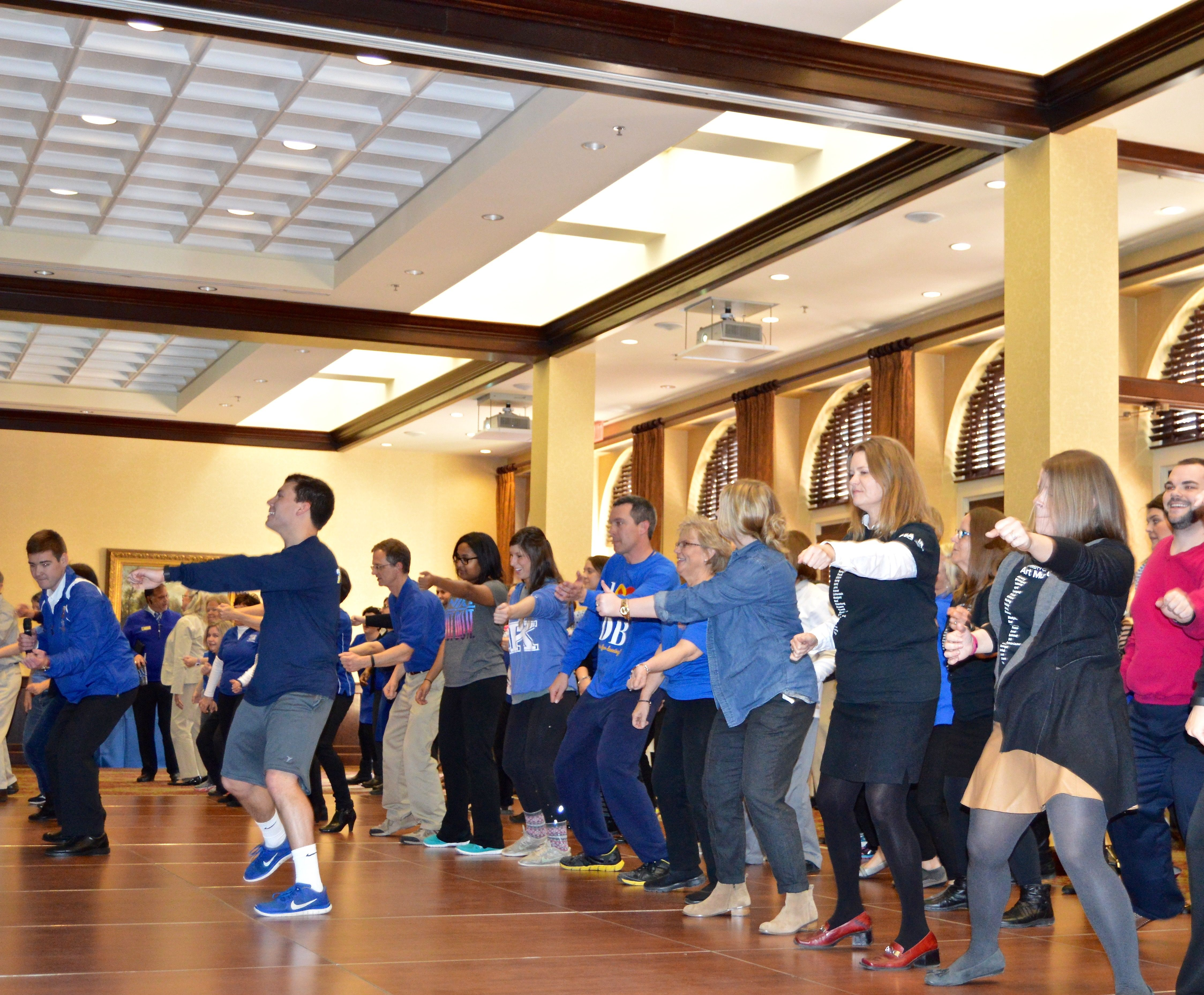 1st UK DanceBlue Faculty/Staff Mini Marathon
