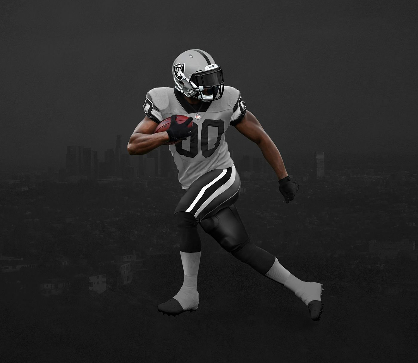 NFL to LA on Behance Nfl, Branding design, Sports