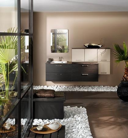 salle de bain - meuble zen deco maison Pinterest