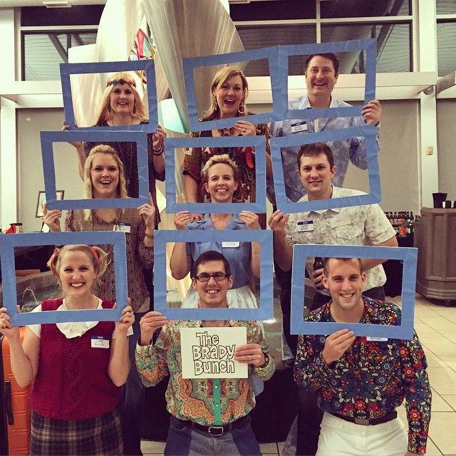 Brady Bunch Costume Halloween Fun Work Parties Ideas Halloween Costumes