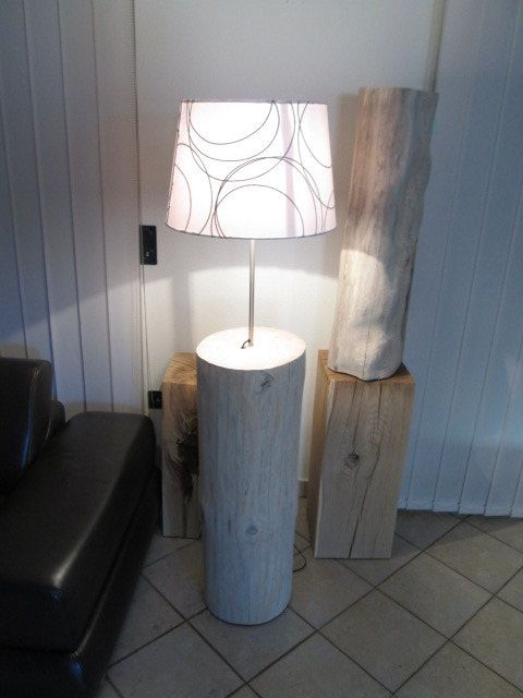 baumstammlampe stehlampe 31x31x 160cm kompatibel ikea schirm neu in meinem. Black Bedroom Furniture Sets. Home Design Ideas