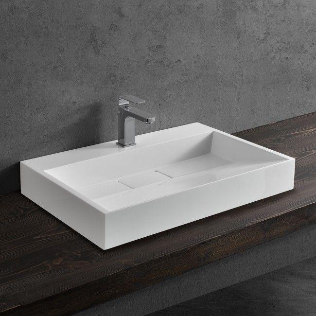 waschbecken eckig badezimmerm bel pinterest waschbecken w sche und waschbecken. Black Bedroom Furniture Sets. Home Design Ideas