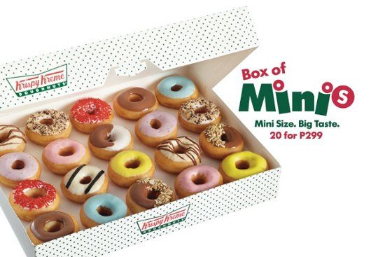 Image result for krispy kreme mini