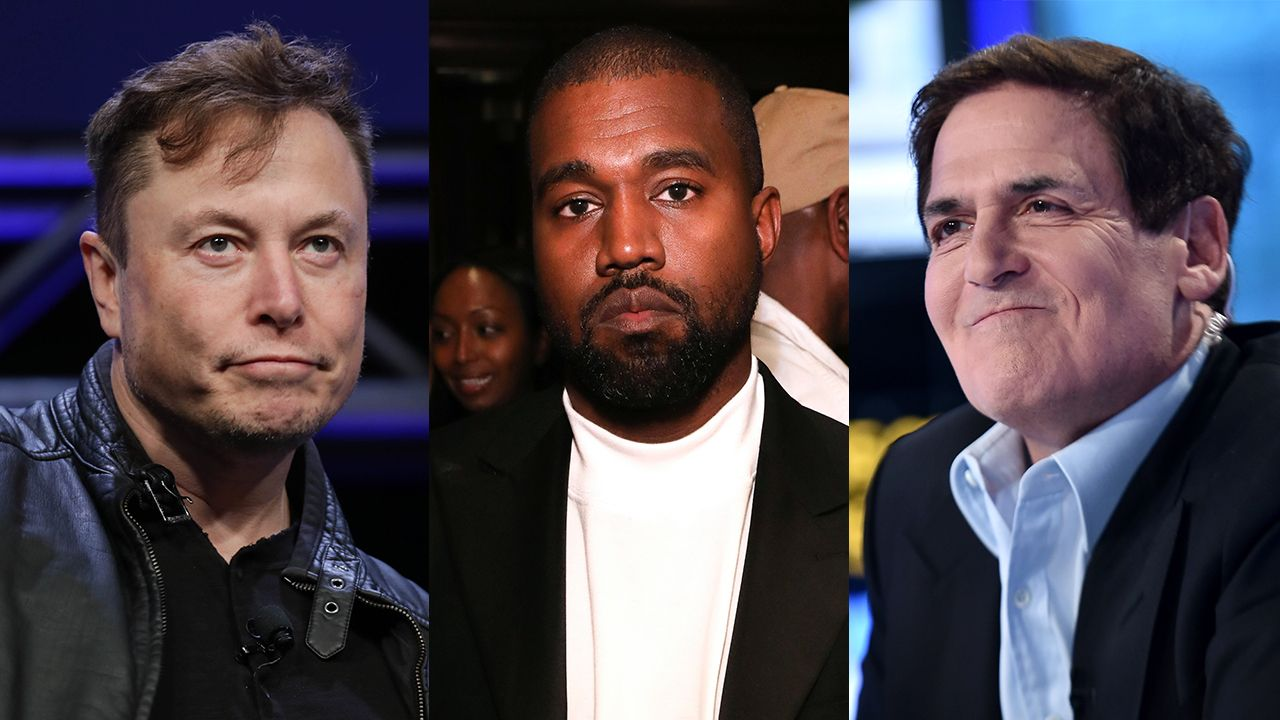 Trending Fox Business News Mark Cuban Elon Musk Tweet Support For Kanye West After Running For President Announcement In 2020 Pastor Joel Business Leader Kanye West