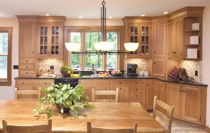 Oak Shaker Kitchen Cabinets I Kinda Like These But I Am Just Not