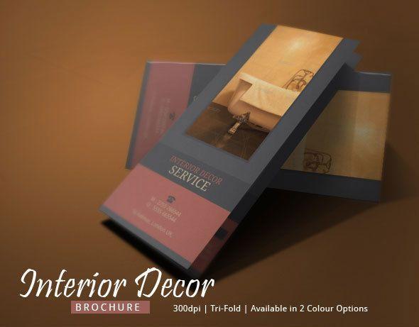 interior design brochure - Brochure template, Makeup artists and Brochures on Pinterest