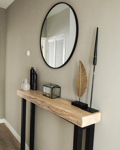 Spiegel rond met metalen lijst - diameter 80 cm | Da's leuk van Xenos