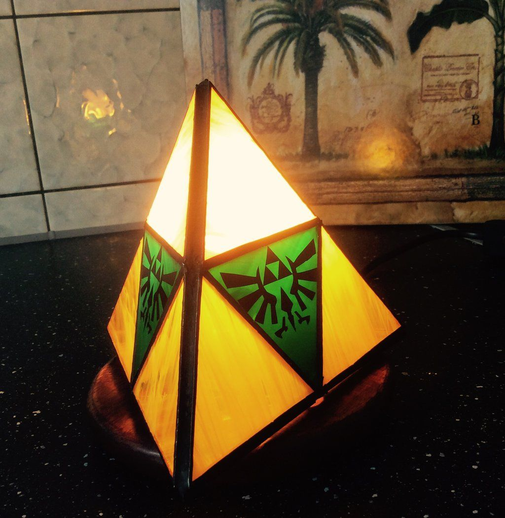 Stained Glass Zelda Lamp