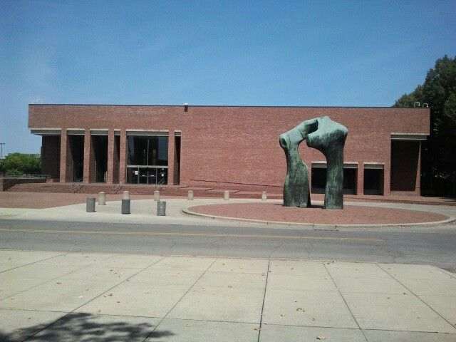 Library, I.M. Pei, Columbus, In