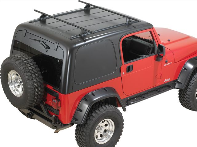 Yakima Hardtop Roof Rack For 87 06 Jeep Wrangler Yj Tj Unlimited