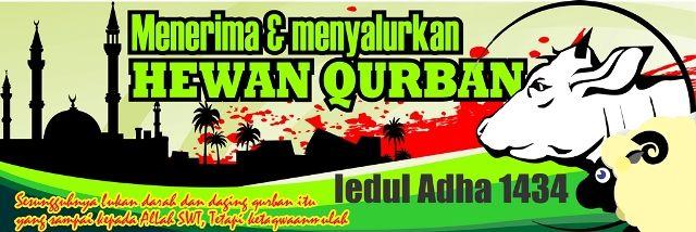 Free Download Spanduk Banner Qurban Idul Adha 1434 H Banner