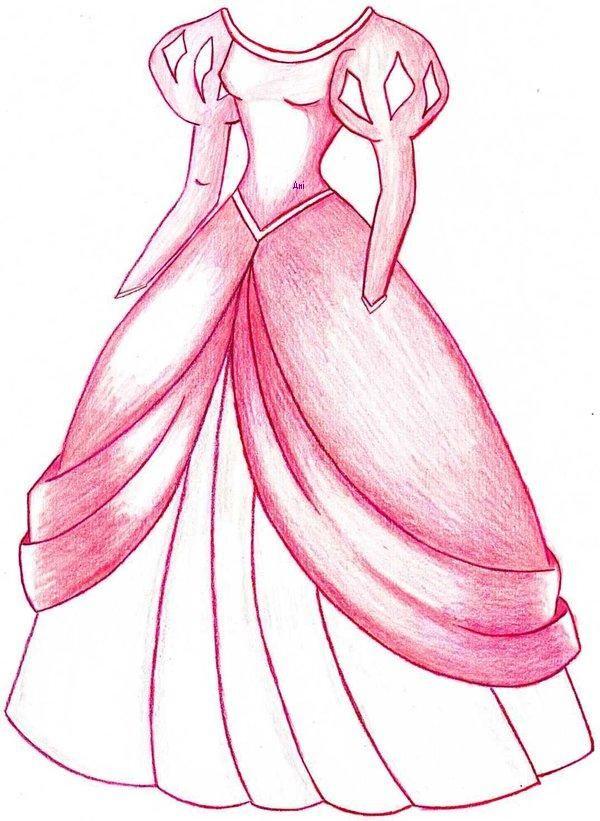 Ariel S Dress By Mod37 Deviantart Com On Deviantart Disney