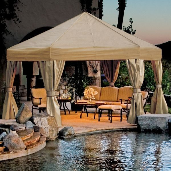 30 cool luxury gazebo designs and ideas - thegazebodesign.com ... - Gazebo Patio Ideas