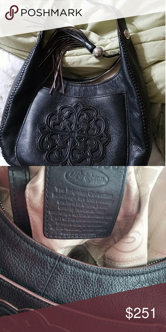 Brighton Leather Ferrara Purse Gently Used Bags Shoulder