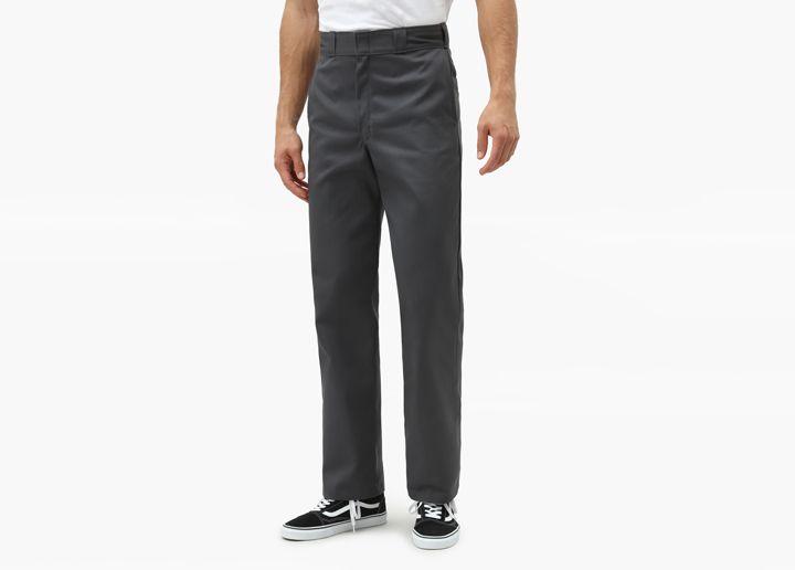 Dickies 874 original fit straight leg pants charcoal grey