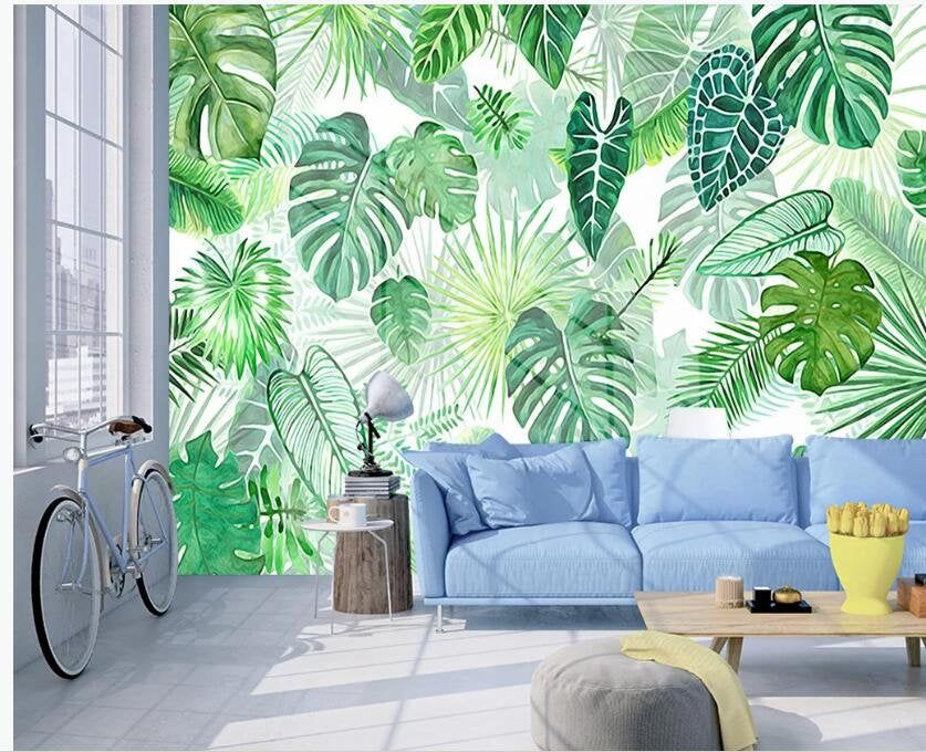 Pin On Wall Mural Download the perfect tropical leaves pictures. pin on wall mural