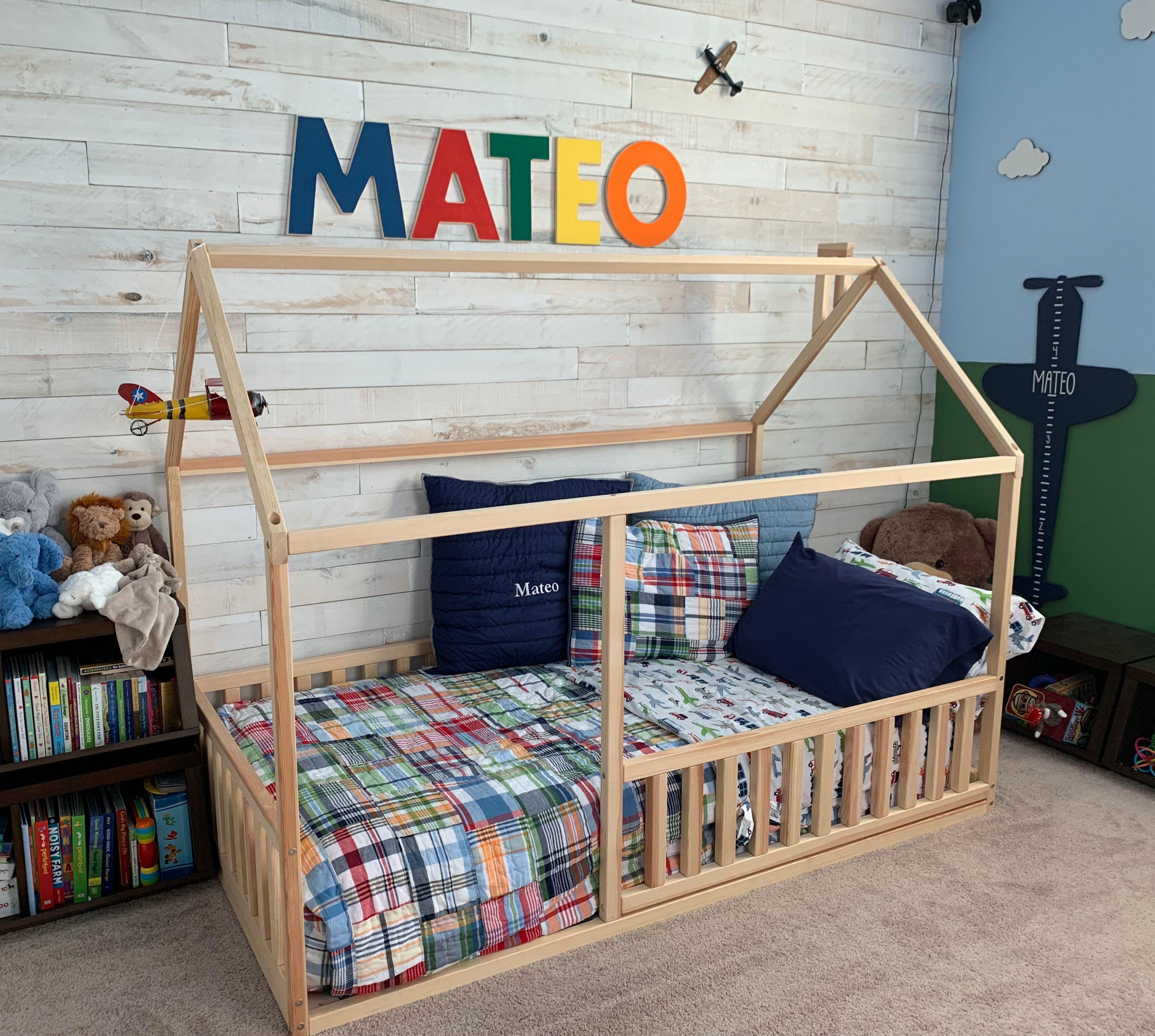Toddler Bed Children Bed Montessori House Bed Montessori Bed Floor