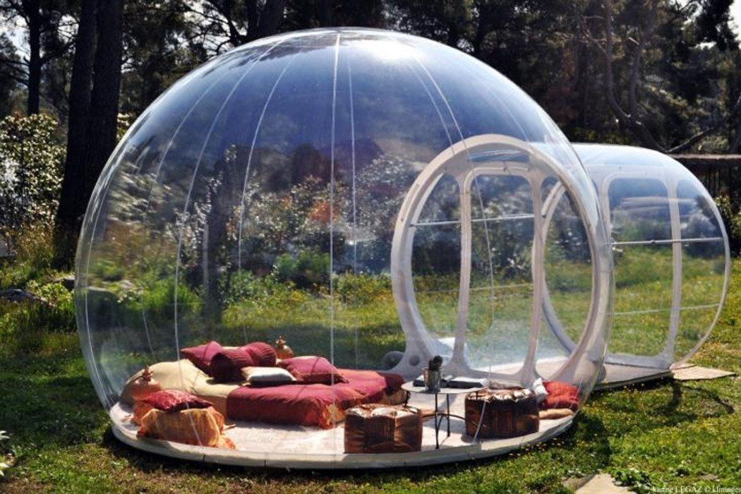 Bubble Camping Dome Globe Gear Glamping Igloo Inflatable Outdoors