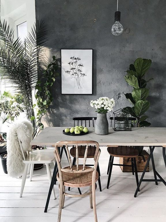 30 chic boho dining room decor ideas with rustic style boho dining room dining room decor on boho chic dining room kitchen dining tables id=38426
