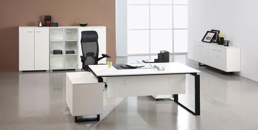 ویژگی یک میز اداری خوب Modern Office Furniture Desk Office Furniture Modern White Modern Office