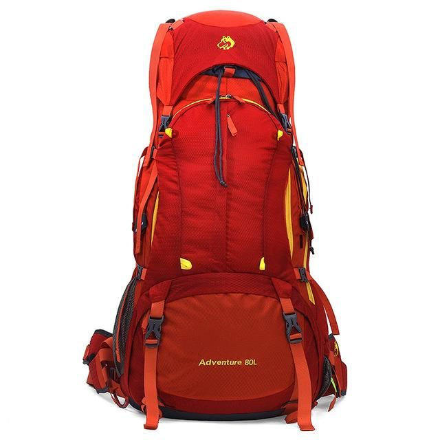 100% autentic multiple culori cel mai bun 80L Big Capacity Sports Outdoor Travel Trip Bag For Camping Hiking ...